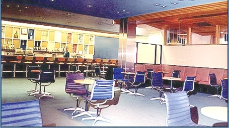 The bar at the Gander International Airport, 1969