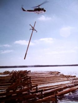 Hydro 212 slinging poles