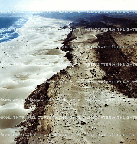 Miles and miles of sandy coastline
