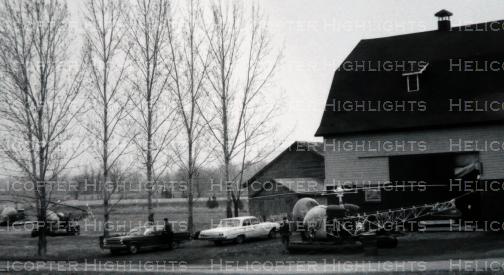 Viking's original hanger - 1969